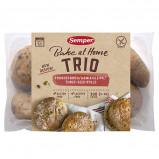 Brød trio glutenfri fra Semper - 300 gram