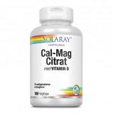 Calcium Magnesium Citrat m. D-vit. - 180 stk.