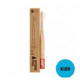 Tandbørste børn bambus rød fra Hydrophil - 1 stk.