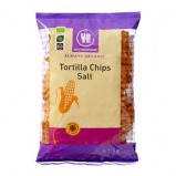 Tortillachips med havsalt økologiske - 125 gram