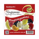 Sukkerfri Frugtvingummi - 90 gram