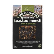 Eat Natural Glutenfri Ristet Mysli Med Boghvede (500 g)