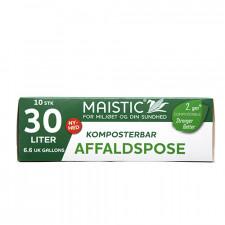 Maistic Komposterbare affaldsposer 30L - 10 stk.
