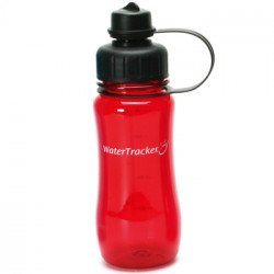 WaterTracker Red 0,5 l drikkedunk. 1 Stk