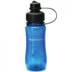WaterTracker Navy Blue 0,5 l drikkedunk. (1 stk)