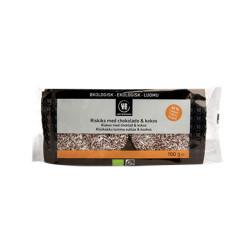 Urtekram Riskager m. Kokos & Chokolade Ø (100 g)