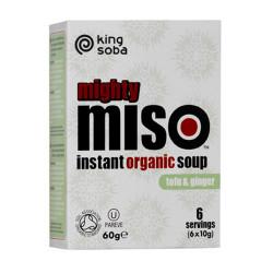 Instant Miso suppe Tofu og Ingefær Ø 60 gr.