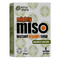 Instant Miso Suppe med Græskar og Grøntsager Ø (60 gr)