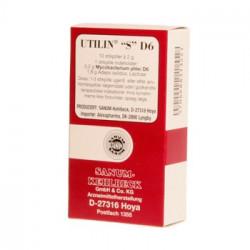 Utilin S D6 stikpiller (rød) (10 stk)
