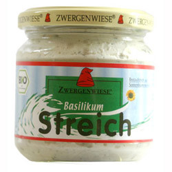 Basilikum smørepålæg Ø 180 gr.