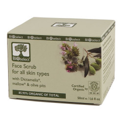 Bioselect Face Scrub (50 ml)