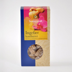 Ingefær kandiseret Ø 75 gr.