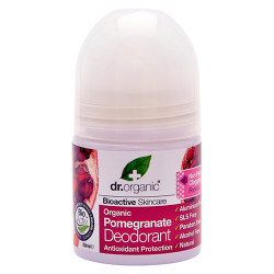 Dr. Organic Pomegranate Deodorant Roll-on (50 ml)