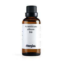 Arsenicum Alb D6, 50 ml.