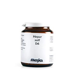 Hepar Sulf D6, trit,50 ml