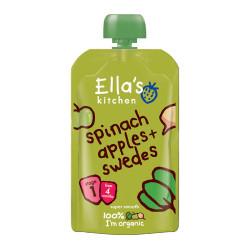Ellas Kitchen Babymos Spinat/Æble/Kålroer Ø 4 Mdr (120 gr)