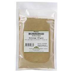 Burrerod pulver (100 gr)