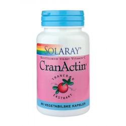 Solaray CranActin Tranebærekstrakt 400 mg (60 tabletter)