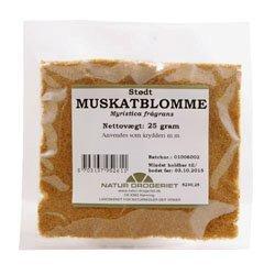 Natur Drogeriet Muskatblomme Stødt (25 gr)