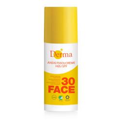 Derma Sun Ansigtssolcreme SPF 30 (50 ml)