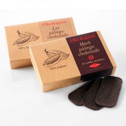 Økoladen Lys Pålægschokolade 44% Ø (125 gr)