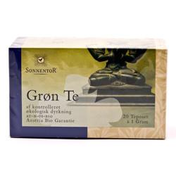 Sonnentor Grøn Te Ø (20 breve)