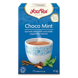 Yogi tea choko mint Økologisk - 17 breve