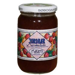 Jordbærmarmelade sødet m æbleØ