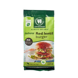 Urtekram Red Lentil Burger Mix Ø (160 g)