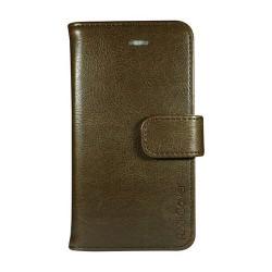 Mobilcover iPhone 5-5s-5se brun PU-læder