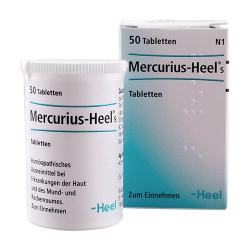 Heel Mercurius-Heel (50 tab)