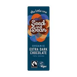 Seed & Bean Mørk Chokolade 72% Ø (25 g)