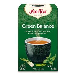 Yogi Tea Green Balance Økologisk - 17 breve