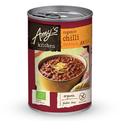 Chilisuppe medium med bønner & tofu Øko - 416 gr