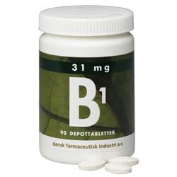 dfi B1 Vitamin 31 mg (90 depotabletter)