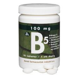 dfi B5 Vitamin 100 mg (90 depottabletter)