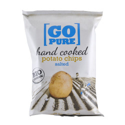 Go Pure Chips m. Salt Ø (125 gr)