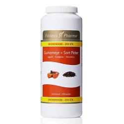 Fitness Pharma Gurkemeje & Sort Peber (200 kap)
