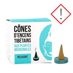 NatureSource Røgelse cones Relaxing (1 pk)