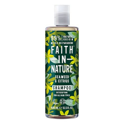 Faith in Nature Shampoo Alge & Citrus (400 ml)