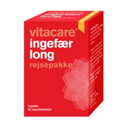 VitaCare Ingefær Long Rejsepakke (50 stk)