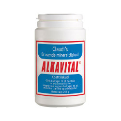 Claudis' Alkavital Brusende Mineraltilskud (250 gr)