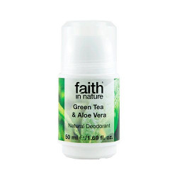 Faith in Nature Roll on Aloe Vera & Grøn Te (50 g)