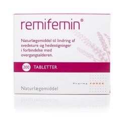 Remifemin tabletter til overgangsalderen 200 stk.