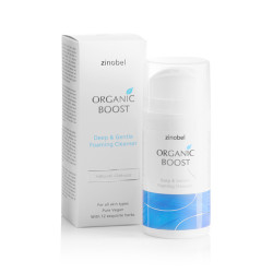 Cleanser Deep & Gentle Organic Boost (100 ml)