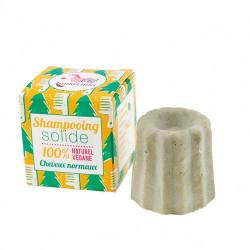 Shampoobar til Normalt Hår med Grøn Ler/Fyrrenåle (55 g)