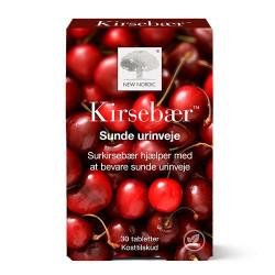New Nordic Kirsebær (30 tab)