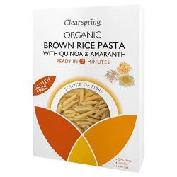 Clearspring Brune ris penne m quinoa & amaranth Ø (250 g)