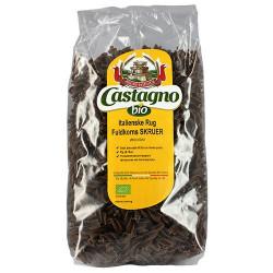 Castagno, rug fuldkorns skruer (500g)