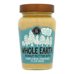 Peanutbutter Mixed seeds fra Whole Earth - 340 gr